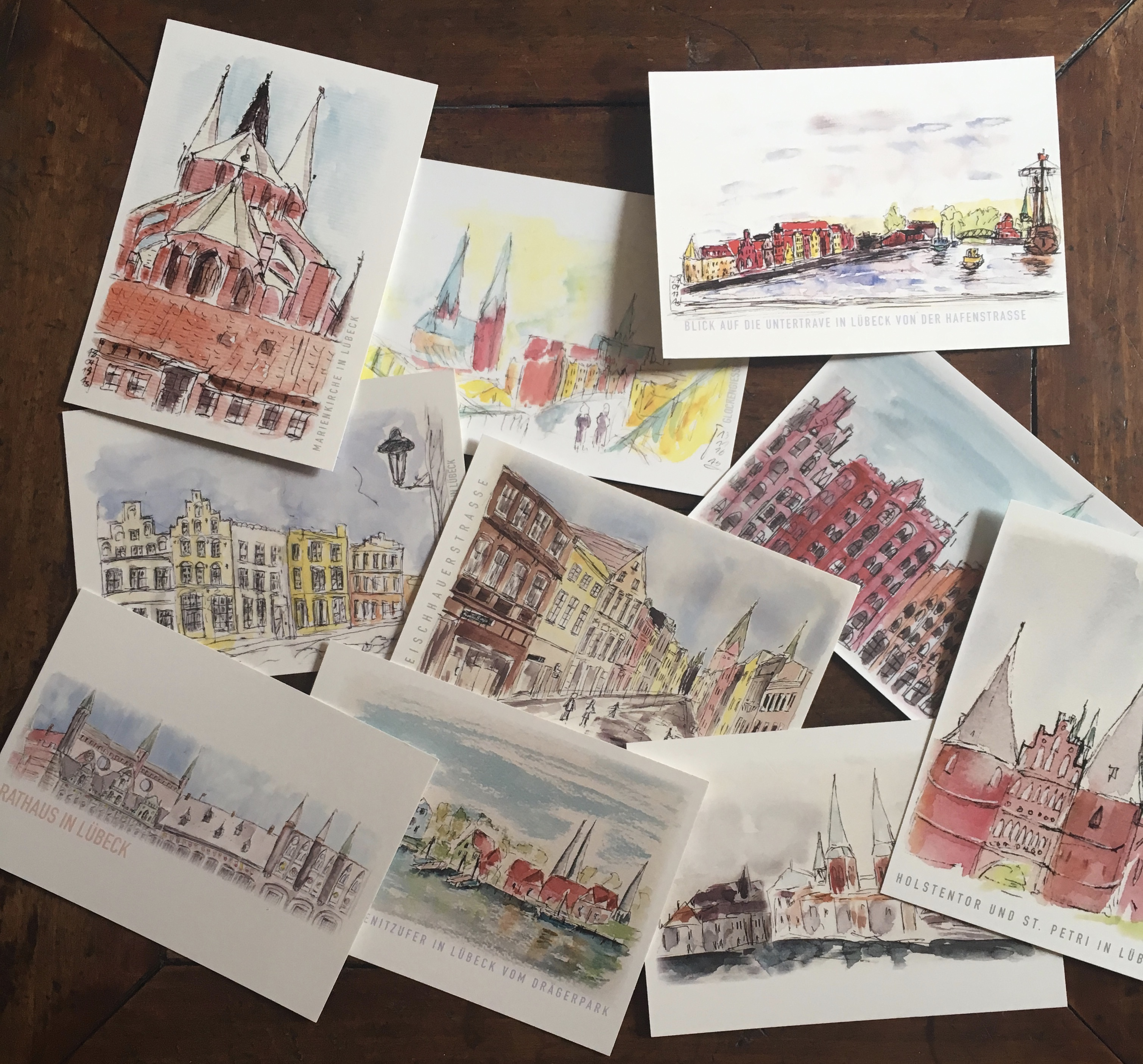 Postkartensatz